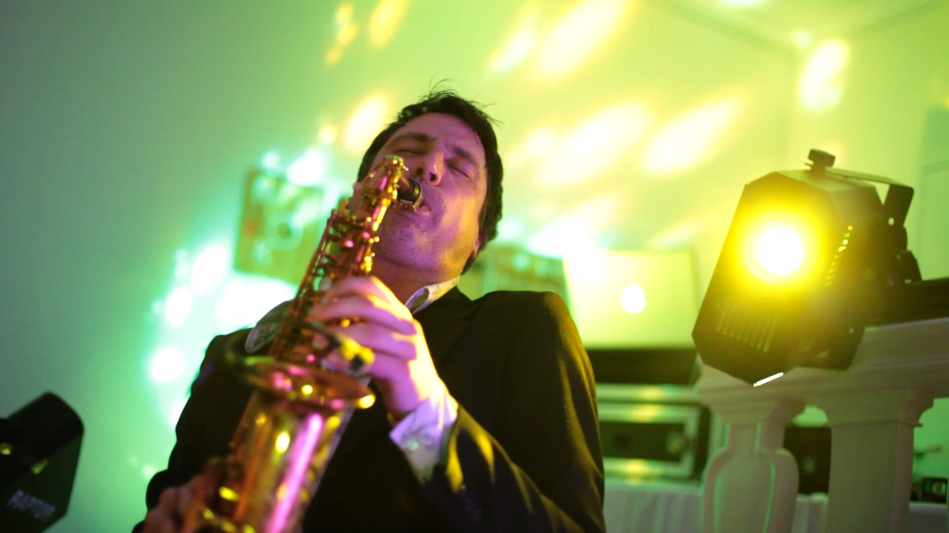 DJ Plus saxophone