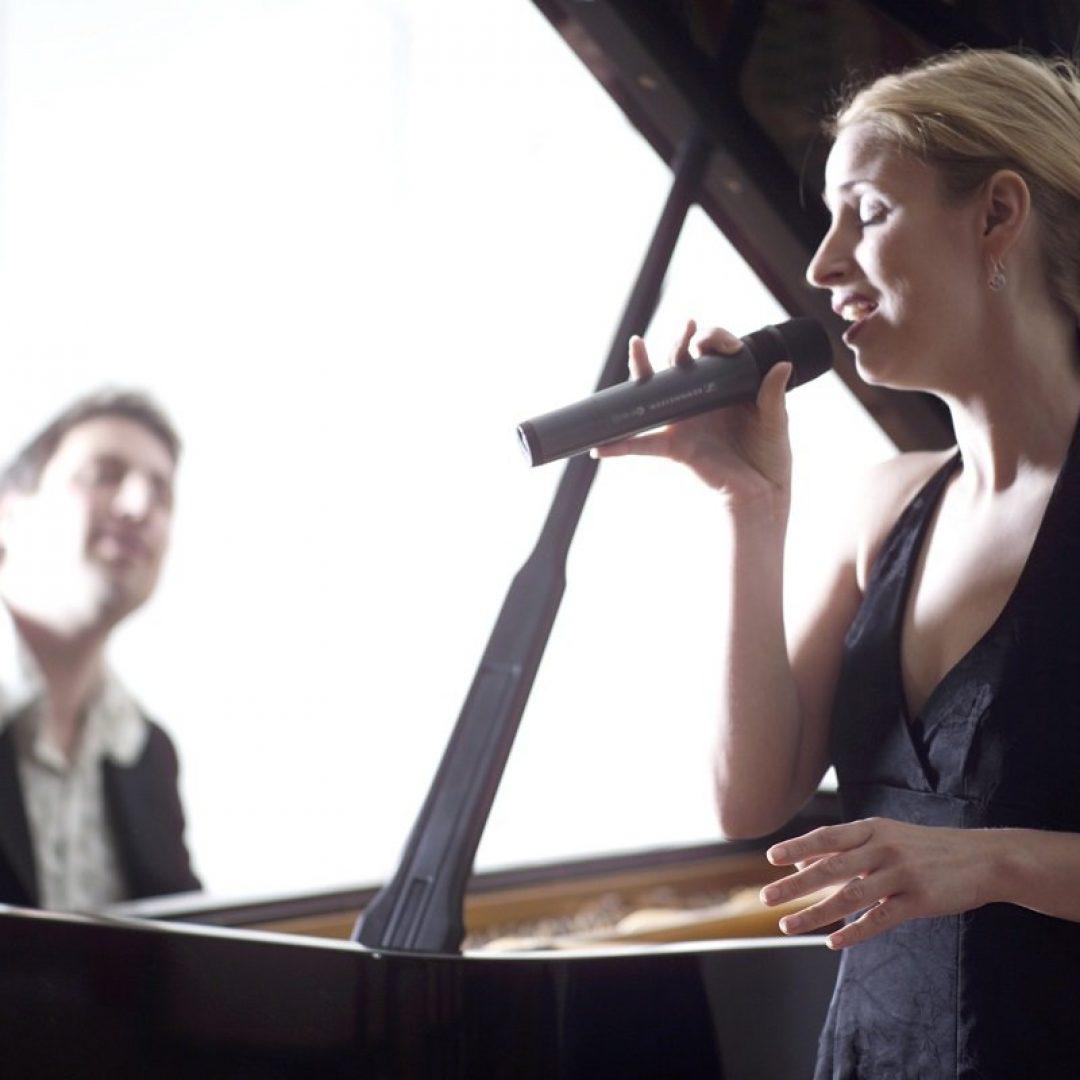 Sängerin Trauung